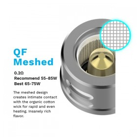 Résistances QF Meshed (0.2 ohm) Vaporesso