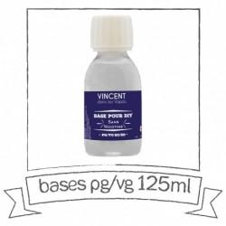 base 30% PG/70% VG 125ml Vincent en vapes