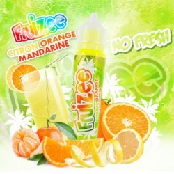 Citron Orange Mandarine NO FRESH 50ml Fruizee