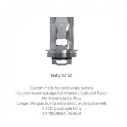 TFV8 Baby v2 S2 resistència (0,15) Smok