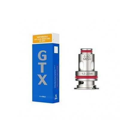 Résistances GTX Mesh 0,2 pour Target PM80 Vaporesso